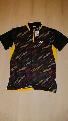 Yonex Polo Shirt Team Germany Badminton Tischtennis Polo Gr. L NEU mit Etikett