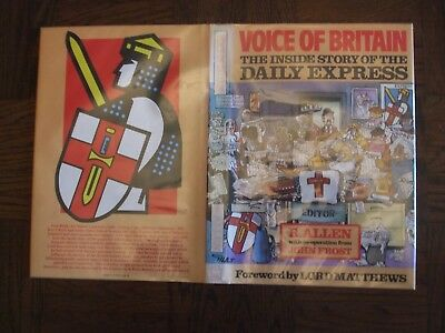 5 giles cartoons in Voice of Britain by R Allen