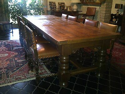 Kloostertafel Large dining table with 13 chairs