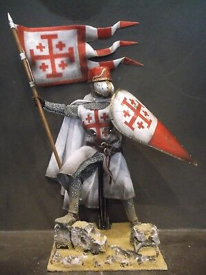 """12"""" Custom Knight Of The Holy Sepulchre, Medieval Crusader 1/6 Figure Ignite"""