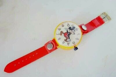 Mickey Mouse Toy Watch Vintage 1970 Marx Toys Japan orologio Topolino Disney