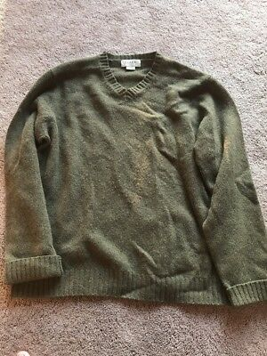 MINIMUM MEN S SALERNO Knit Jumper Sweater Large Olive NWT -  42.59 ... 6ea75b9dc