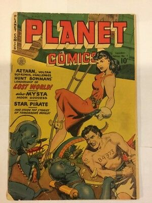 Planet Comics, CANADIAN ISSUE #1