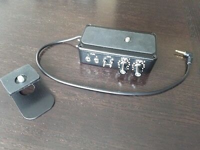 Sign Video XLR Pro Dual Input DSLR Audio Adapter, Works well.