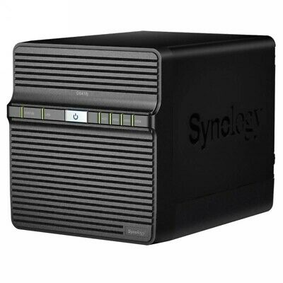 Synology DiskStation DS418j 4 Bay Diskless NAS 1.40GHz Dual Core CPU 1GB RAM