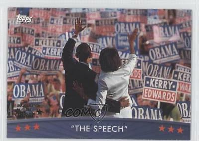 2008 Topps President Obama Collector Trading Cards #22 The Speech Card 1x0