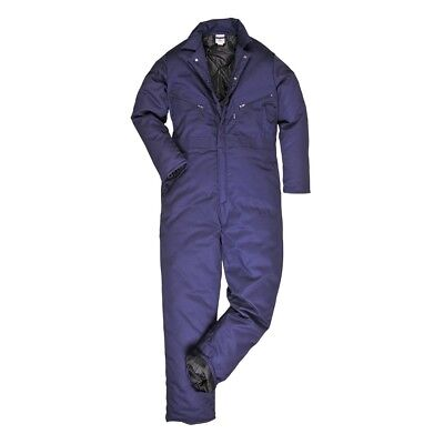 Portwest Orkney Thermal Padded Coverall Overall Lined Outdoor Winter Warm S816
