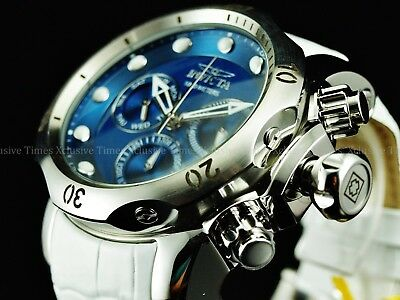 LATEST Invicta Reserve 52mm Venom Arctic Blue Limited Ed Swiss Z60 Chrono 1000M