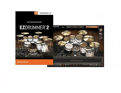 Toontrack Ezdrummer 2 Ez Drummer Virtual Drumming Software Pc/mac Boxed Retail