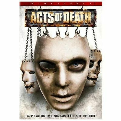 Acts of Death DVD NEW Sealed Niki Huey Jason Carter Nathaniel Nose Widescreen 🎬