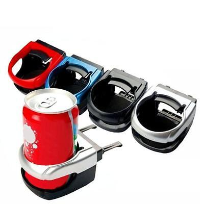 Fresh Car Air Vent Outlet Cup Drink Bottle Can Holder Stand Mount Silver AU