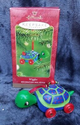 2001 Hallmark Keepsake Wiggles Turtle Ornament Christmas Decor