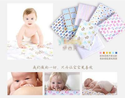 Baby Cotton Flannel 100 Blanket Receiving Handmade Toddler 4 Blankets Pack New