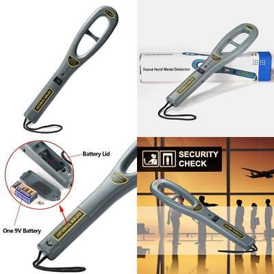 Hand Held Metal Detectors Portable Lightweight Security Scanner Wand Adjustable