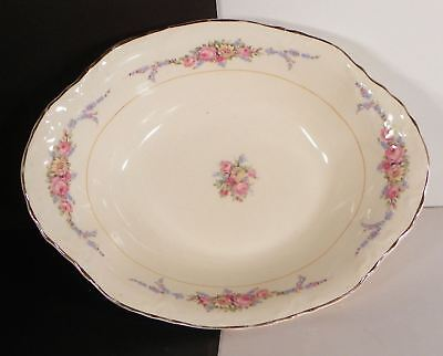 WS George Laura Lee 30936 Oval Vegetable Serving Bowl Radisson Shape