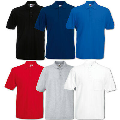 Fruit of the Loom Poloshirt Sport Performance Polo Herren Fitness Top S - 3XL