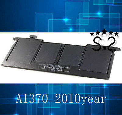 "New A1370 MC505LL/A Battery for Macbook Air 11.6"" Late 2010 Version A1375"