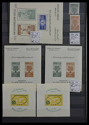 Lot 28511 Collection souvenir sheets of the world.