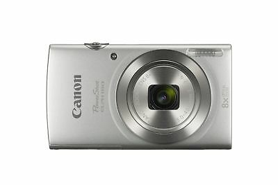 Canon PowerShot Elph 180 Silver Digital 20.0 MP Camera - High Quility