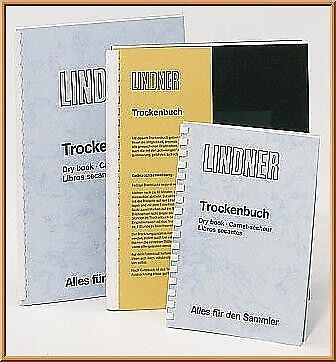 Lindner 846 Drying Book, plain. Size 8 1/4' x 11 11/16' (DIN A4)