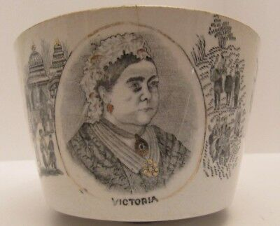 Commemorative China Dish Bowl Basin - Queen Victoria 1897 - Diamond Jubilee.