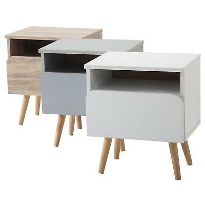 nachtkommode nachttisch nachtkonsole f r boxspringbett 1 schublade 1 ablage eur 34 95. Black Bedroom Furniture Sets. Home Design Ideas