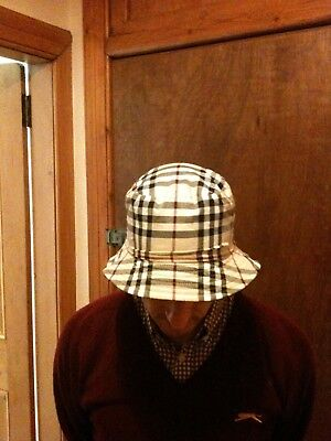 Burberry bucket hat reversible Manchester football hooligan casuals brand  new adc3417d3b3