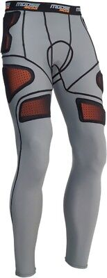 Moose Racing Adult MX ATV XC1 Base Armor Pants Grey S-2XL Small 2940-0306