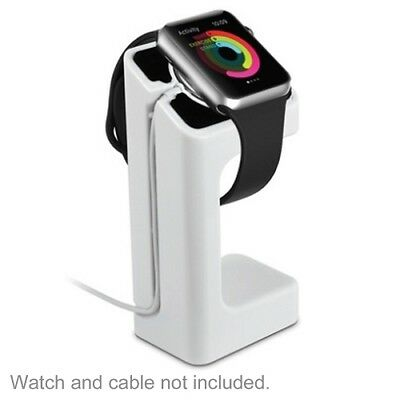 Apple Watch Charging Dock Stand Holder Bracelet iWatch 38mm 42mm White