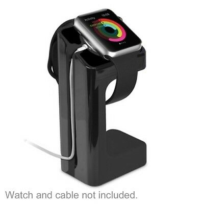 Apple Watch Charging Dock Stand Holder Bracelet iWatch Accessories 38mm 42mm BLK