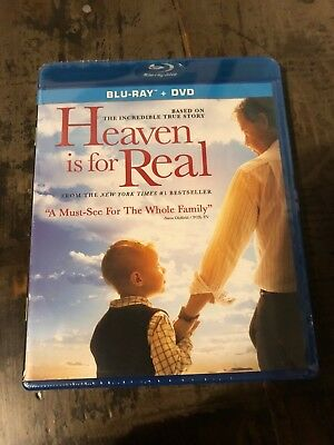 Heaven Is for Real Blu-ray + DVD New Free Ship