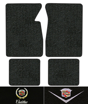 1959-1960 Cadillac DeVille Floor Mats - 4pc - Loop | Fits: 2DR, Coupe