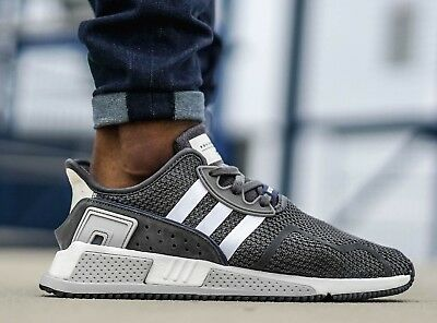 New ADIDAS EQT Support ADV Cushion Sneaker Mens grey white all sizes
