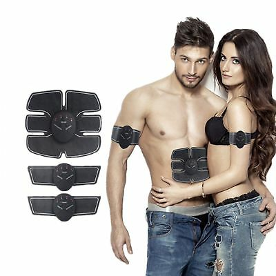 Wireless Electronic Muscle Massager ABS Fit Stimulator Body Slimming Trainer TP