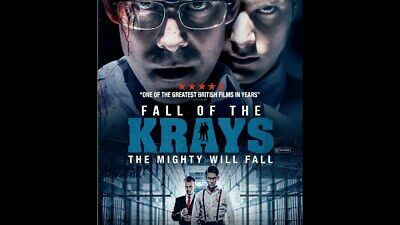 Fall of the Krays Region 4 DVD New (Kray Twins Ronnie Reggie)