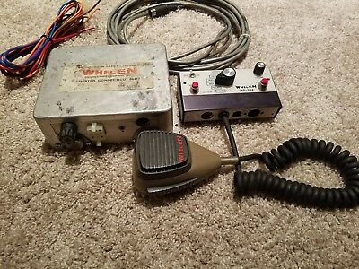 Whelen 224 Vintage Ws Power Supply Box And Remote Head Cable Power Plug Rare
