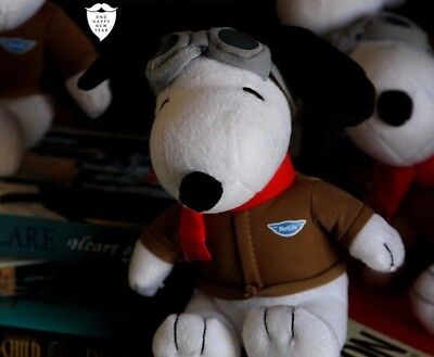 The Peanuts Movie Snoopy Aviator Pilot Stuffed Plush Doll 8'' 1pc