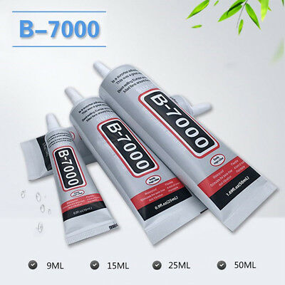 B-7000 Industrial Fluid Glue Adhesive For Jewelry Nail Mobile Phone Frame 9-50ml