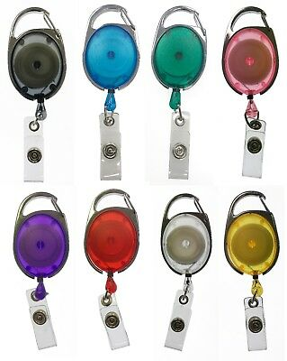 Premier Badge Reels Retractable Yo Yo Badge Reel For Use With ID Card Holders