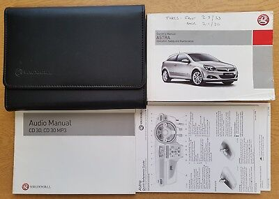 vauxhall astra h owners manual handbook audio guide in wallet 2004 rh picclick co uk holden astra 2004 owners manual pdf Chevrolet Astra 2004