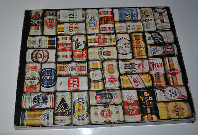 Springbok Hallmark Beer Can Cans Jigsaw Puzzle 500+ pcs,70er , COMPLETE