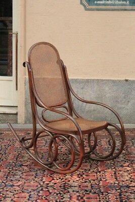 Chair In Rocking Model Thonet, Period Beginning '900 / Chair Rocking / Rocking