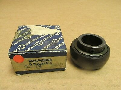 "NIB SEALMASTER L-16 BEARING INSERT L16 L 16 SET SCREW TYPE 1/"" BORE USA"