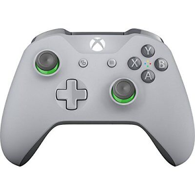 Microsoft WL3-00060 Xbox One Wireless Controller, Grey And Green