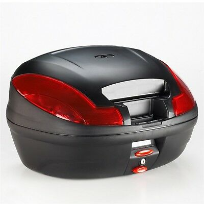 Monolock Top case Givi e470ns Simply III without Cover 47 Litre + Plate Black