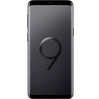 New Samsung Galaxy S9 Midnight Black SM-G960F LTE 64GB 4G Sim Free Unlocked UK