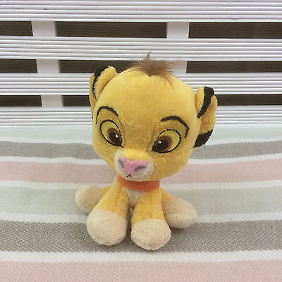 Disney Posh Paws Lion King Simba Plush Comforter Soft Toy 6""