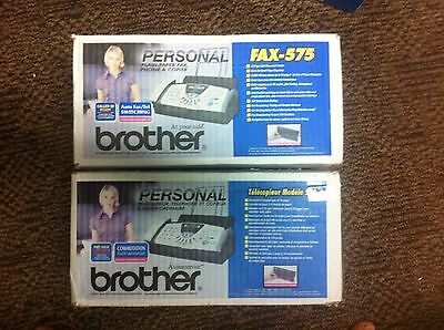 Brother FAX-575 Plain Paper Thermal Copier Fax  Fast shipping
