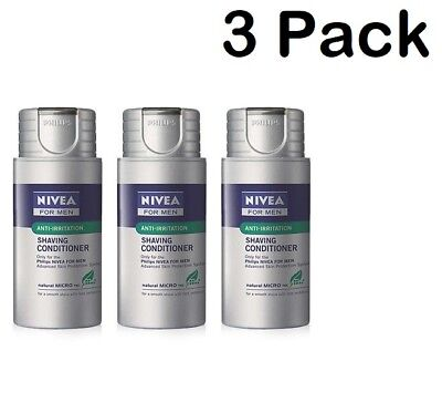 Philips Norelco Nivea HS800 Shaving Conditioner For Men 1 Pack-2 Pack-3 Pack New