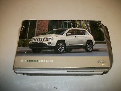 2017 jeep compass owners manual set with cover case 24 99 picclick rh picclick com jeep compass user manual 2017 jeep compass 2013 user manual